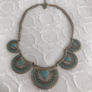 Francesca's Turquoise Statement Necklace